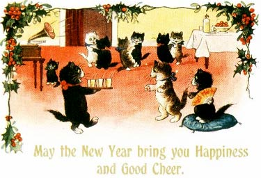 May the New Year bring you happiness and good cheer!